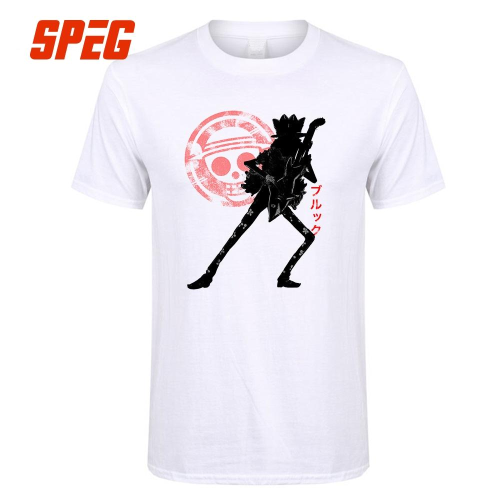 T Shirt One Piece Anime Musician Music Men Organnic Cotton Tops Short  Sleeve Clothes Tshirt High Quality Youth T Shirts For Sale