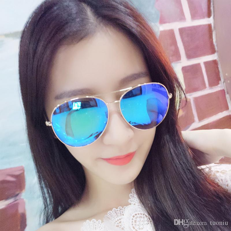 NEW Brand Designer Sunglasses for Men and Women Shades Sunglasses True colorful film scratch-resistant universal retro dazzle glasses toy