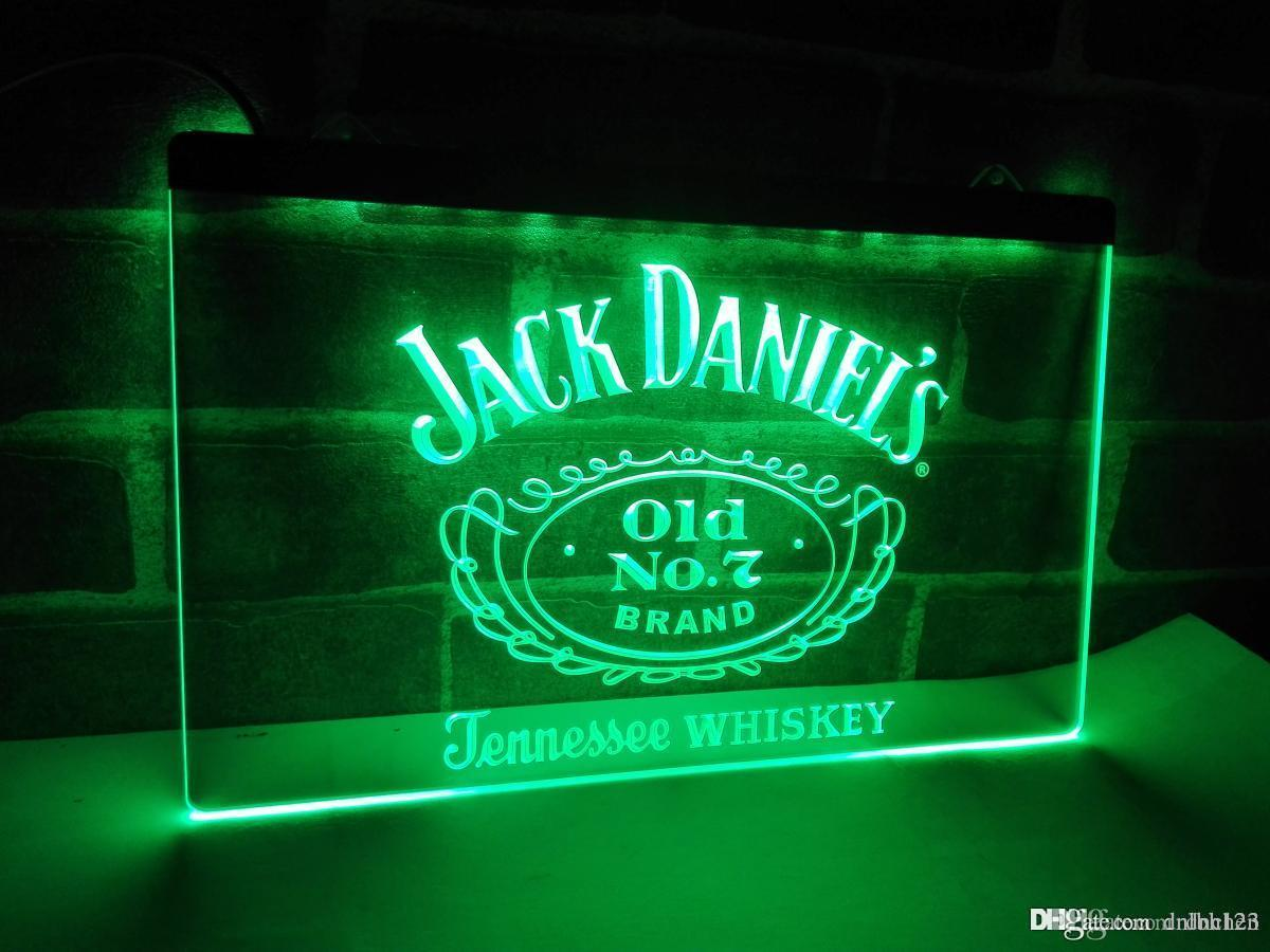LE048g Jack Daniels Whisky Display LED Neon Light Sign