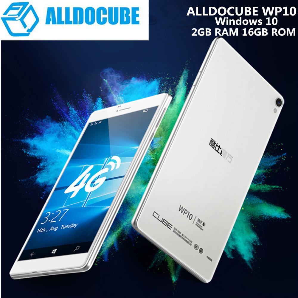 ALLDOCUBE WP10 Tablet PC 6 98 4G Phablet Windows 10 Mobile MSM8909 Quad  Core 1 3GHz 2GB 16GB 5 0MP WiFi OTG GPS Bluetooth