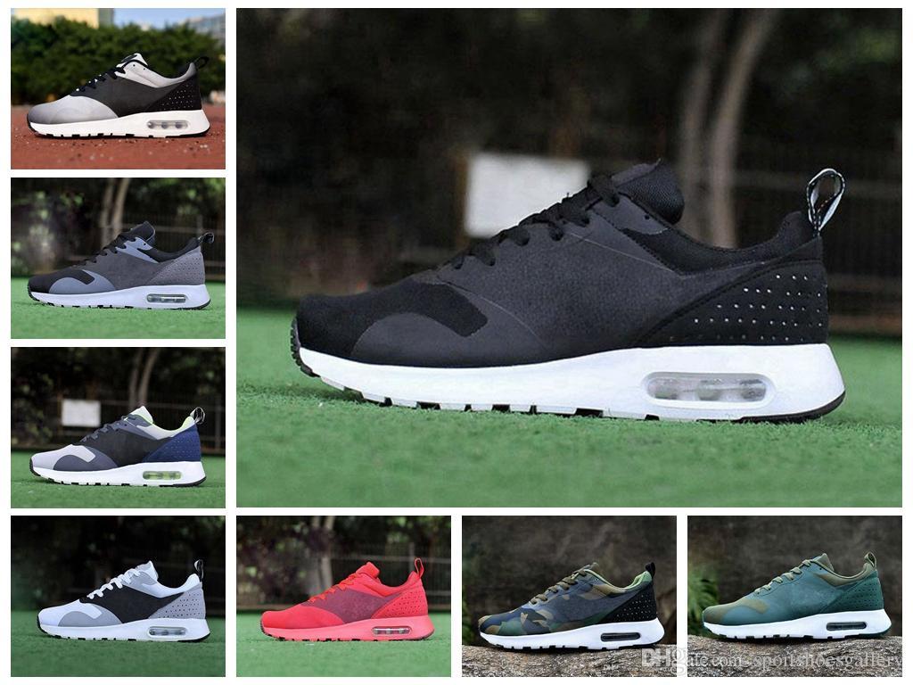 the latest 81bdd 5ec16 Acquista Nike Air Maxes Tavas Airmax Scarpe Da Corsa All ingrosso Top Nuove Scarpe  Da Esterno Sconto Sneakers Sportive Donna Uomo Cheap Causal Sneaker N 17 ...