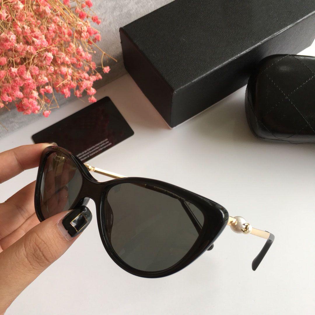 Compre Chanel Cat Eye CNuevas Gafas De Sol Cuadradas De Las Señoras Del  Gradiente De La Moda Luz Retra A Las Gafas De Sol UV400 De La Forma De La  ... 346f774f35ba