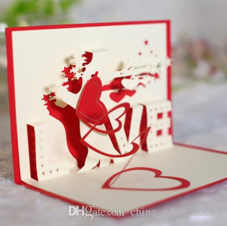 2018 hot sale valentines day 3d love tree greeting cards handmade 2018 hot sale valentines day 3d love tree greeting cards handmade paper cut folding gift card postcards a birthday card adult birthday cards from m4hsunfo