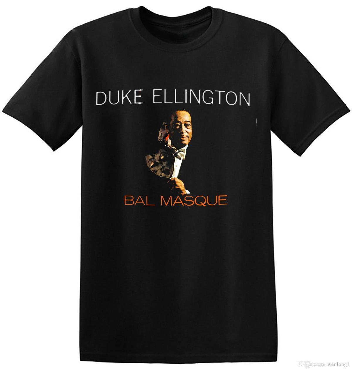 f06eff737d5d Compre Cool Black Jazz T Shirt Señoras Hombres Unisex Retro Gráficos  Imprimir Banda De La Camiseta 4 A 059 O Cuello Hipster Camisetas A  12.14  Del Pxue3302 ...