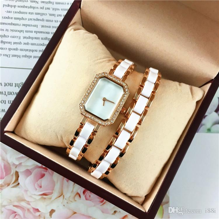 Full Diamonds Rose gold Woman watches 2018 brand luxury Nurse Speical Band Ladies dress female Jewelry buckle wristwatch gifts for girls