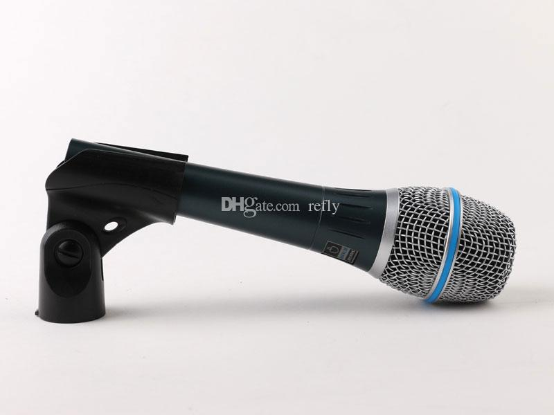 Profesyonel Microfono Beta 87 BETA87 Kablolu El Vokal Dinamik Karaoke Mikrofon Beta 87C BETA87A 87A Için Mic Mikrofonlar