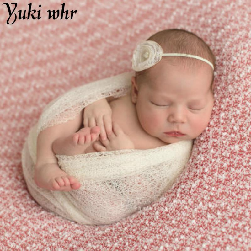 Useful 50*160cm Stretch Knit Wrap Newborn Photography Props Baby Kids Rayon Wraps Maternity Scarf Hammock Swaddlings Women Shawl Accessories