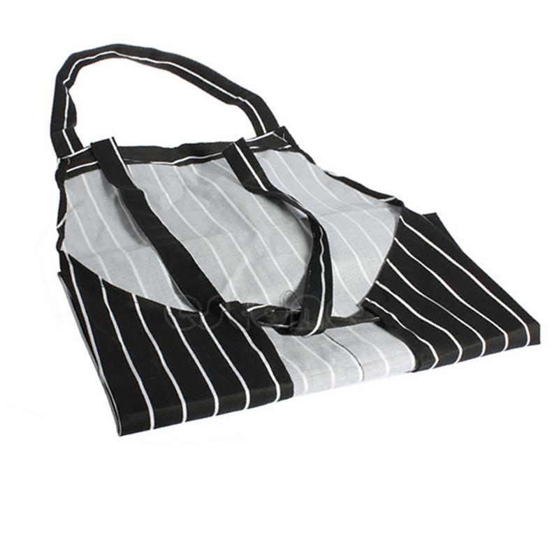Раздели шеф-повар фартуки с 2 карманами рукавов взрослых мужчин женщин фартук кухня кулинария инструменты плед полиэстер нагрудники