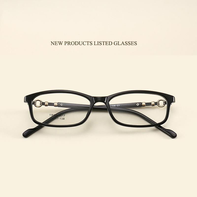 2018 Simple New Student Small Frame Glasses Frame Fashion TR Men And ...
