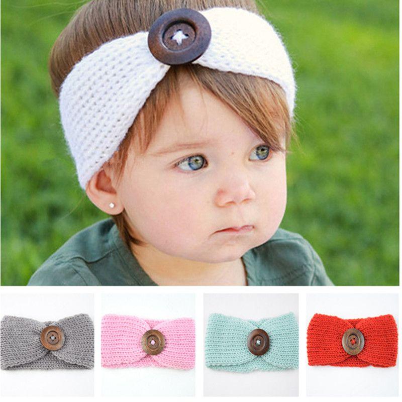 Großhandel Neue Baby Mädchen Mode Wolle Häkeln Stirnbänder ...