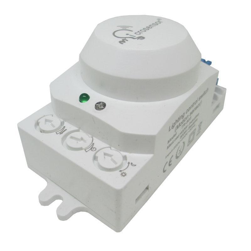 Microwave Induction Switch Microwave Adjustable Switch Microwave Motion  Sensor Auto Inductive Proximity Sensor Light Switch 220-240V/AC