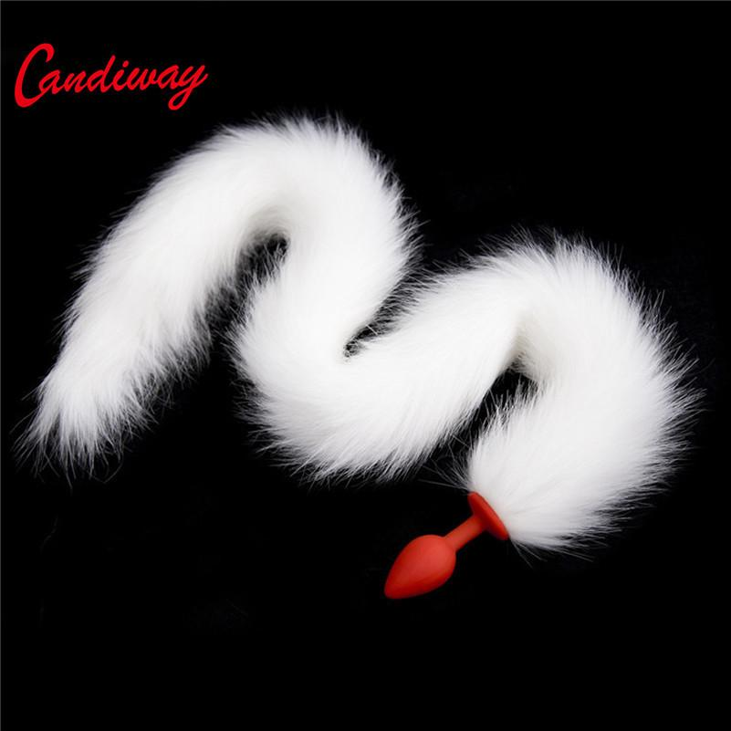a0e62a826 Wild Fox Tail Silicone Butt Plug Unisex Backyard Stimulating Sexy Cat Girls Anal  Tails SexLife Sex Toys For Women Men Adult Game Y1893002 Woman Seeking Man  ...