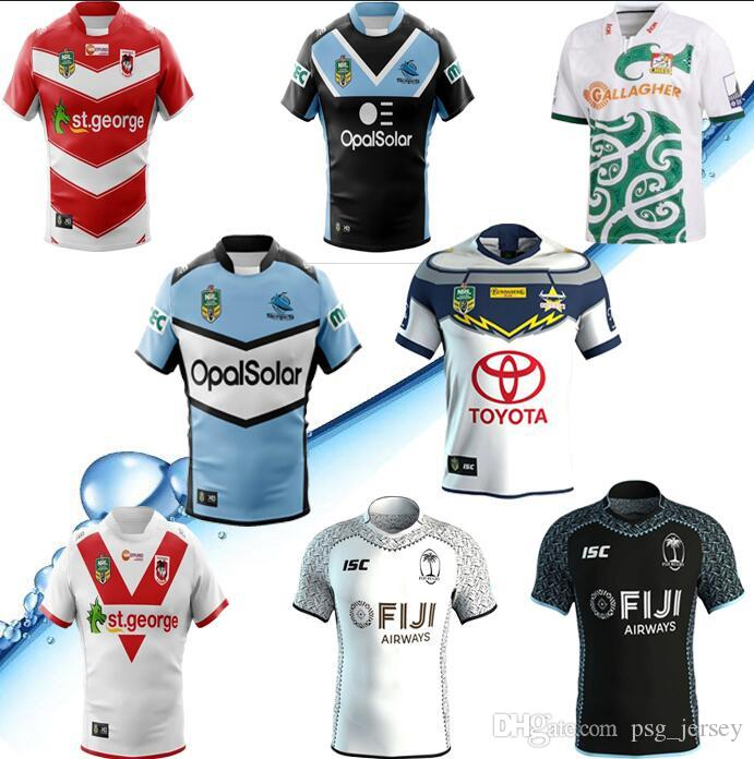 155c0bbb9 2019 2018 2019 Nrl Jerseys Rugby League Storm BRONCOS Cowboys KNIGHTS Eels  Roosters Home Away Rugby Jerseys Football Jerseys Size S 3XL From  Psg jersey
