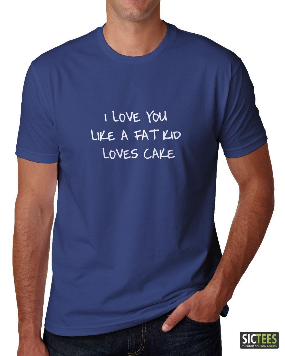 21b7e866 Cute Love Men'S Ladies T Shirt Gift I LOVE YOU Funny Husband Wife Boyfriend  Buy Cool T Shirts Funky Tee Shirts From Lefan09, $14.67| DHgate.Com