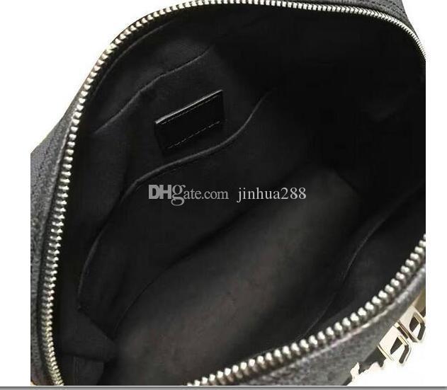Sac à bandoulière pour hommes OL Style 41408 de haute qualité en cuir véritable graphite Business Fashion sac noir 41409