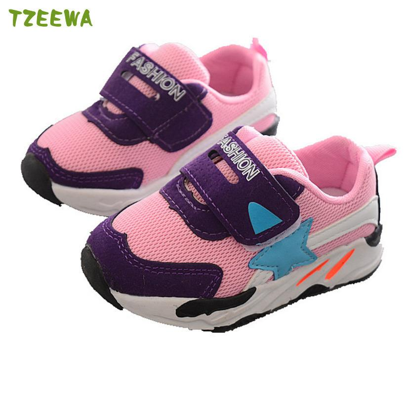aa084f271ad47 Acheter Printemps Automne Enfants Sneakers Chaussures Pour Garçons Filles  Chaussures Fille Fille Baskets Garçon Enfant Chaussures Sport Casual Bébé De  ...