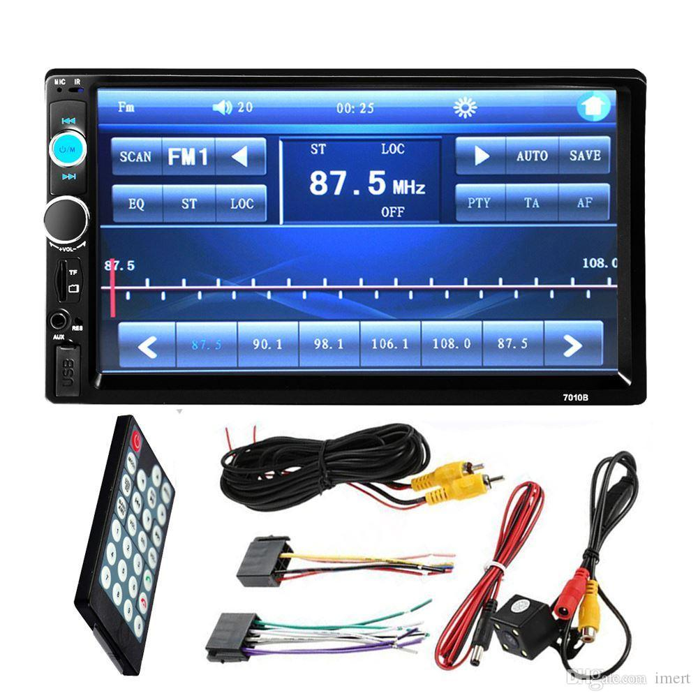 Bluetooth 7 Inch Car Dvd Radio MP5 Player Full HD Touch Screen Stereo FM Rear View Cameras Good Deals On Electronics Home Electronic Gadgets From
