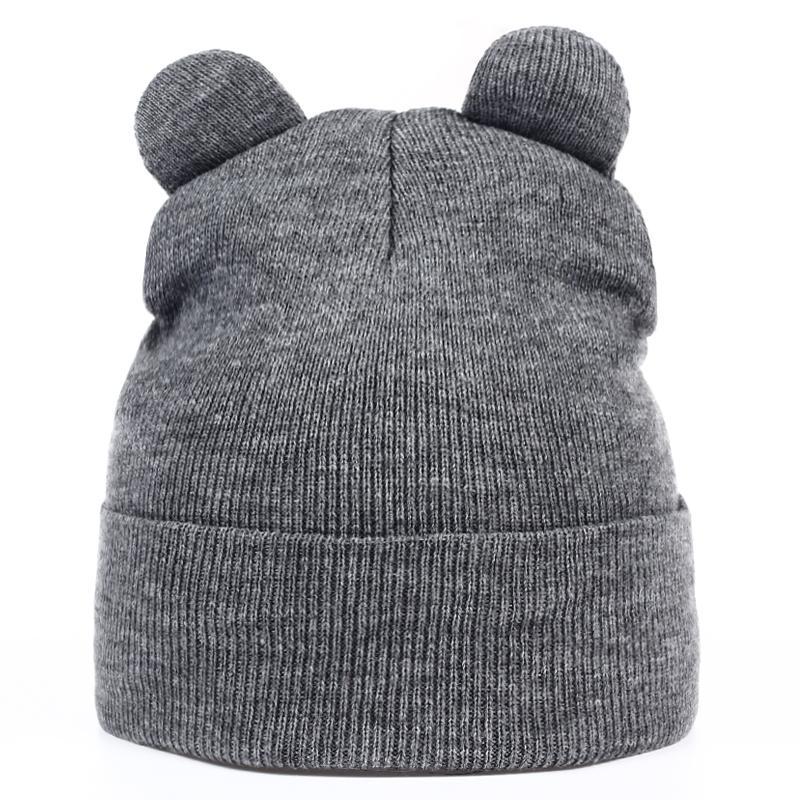 VORON New Women Autumn And Winter Devil Horns Cat Ear Cute Crochet Braided  Knit Beanie Ski Wool Warm Cap Hat Hats For Men Snapback Caps From Jutie a5e8a3ccec7e