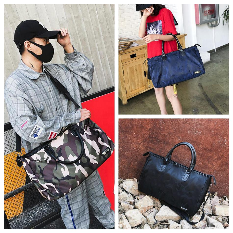 b676e1881c50e 2019 Camouflage Travel Shoulder Bag Women Tote Handbag Large Capacity Camo  Portable Luggage Duffle Outdoor Bag OOA5434 From Sport no1
