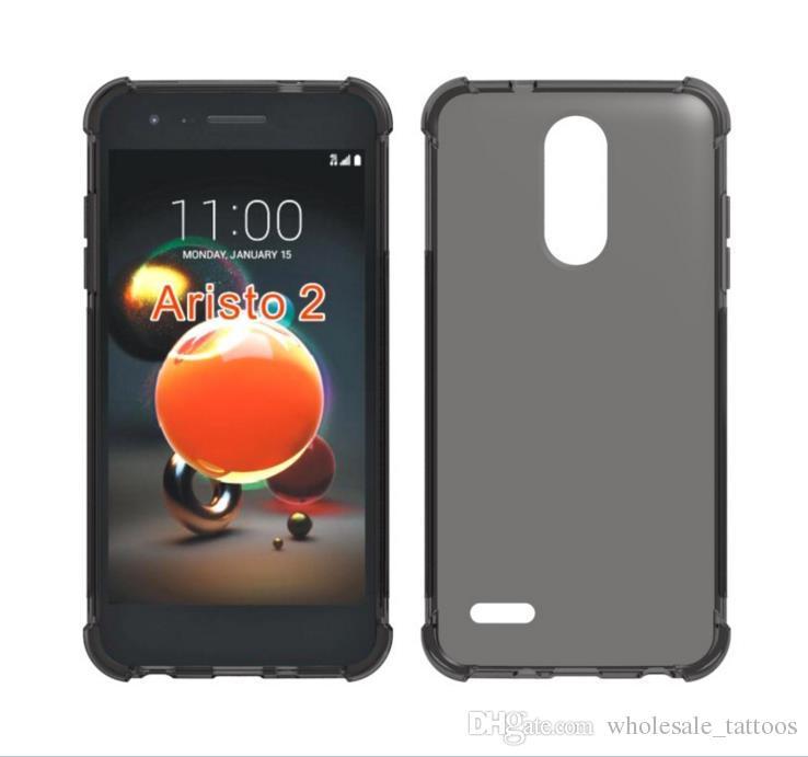 Pour Zenfone 5 ZE620KL 5 Lite ZC600KL Max M1 ZB555KL Profitez de 8 Honor 7C 1.3mm Antichoc Antichoc Robuste Hybride Caoutchouc Armure Souple TPU