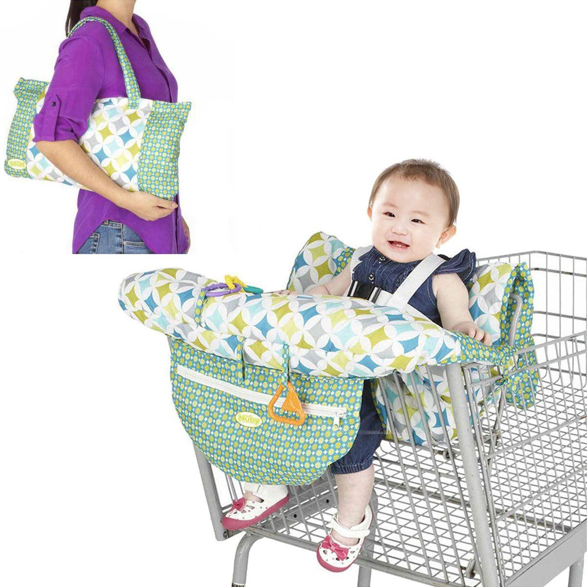 Grocery Cart Seat Cover For Baby Velcromag