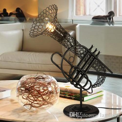 coffee shop lighting. 2018 Loft Antique Sax Industrial Wind Table Lamps Restaurant Coffee Shop  Bar Club Decoration Lighting Creative Personality Led Lights From Coffee Shop Lighting I