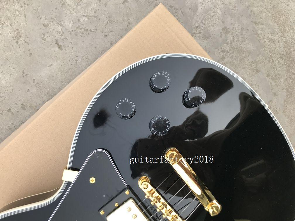 Black beauty custom shop peter frampton signature Electric Guitar