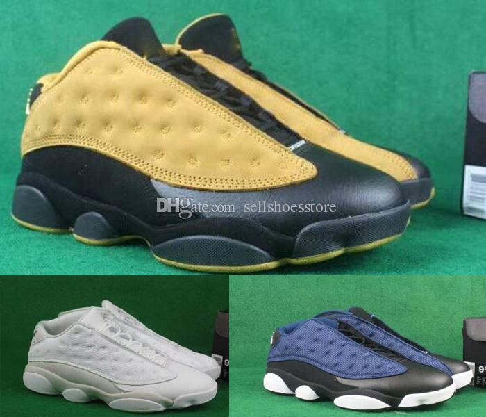 38baa15b6ad0 Mens 13 Basketball Shoes Yellow Blue Black Cat Mens Sport 13s ...