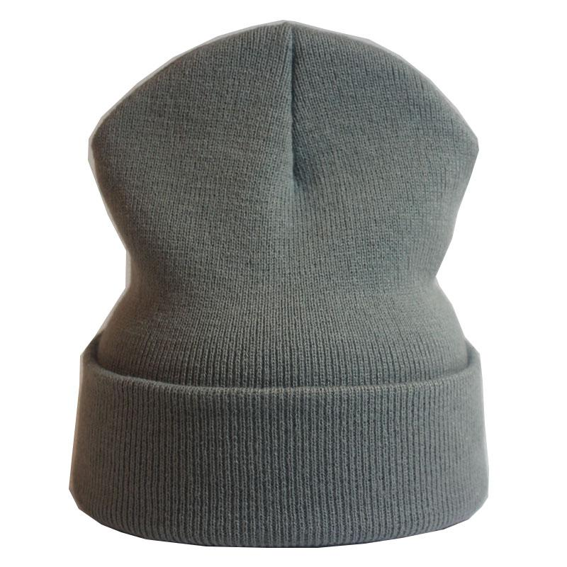 10468e7e61189 Fashion Winter Hat Women Man Green Red Hat Skullies Beanie Unisex ...