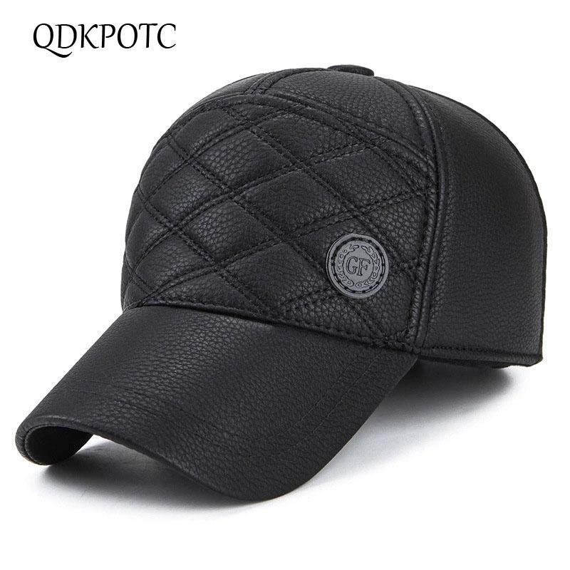 4bcf8112d08 QDKPOTC 2018 High Quality Baseball Cap Men Autumn Winter Fashion ...