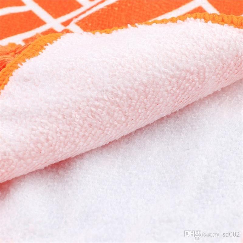 Mandala Boemia Coperta Arcobaleno Moda morbidi tappeti Rugs Strisce di cotone tovagliolo di bagno Yoga Beach Soggiorno multifunzione 17sj ZZ