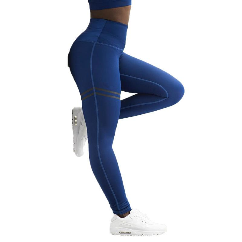 55aaa34b166f Activewear High Waist Fitness Leggings Women Pants Fashion P...