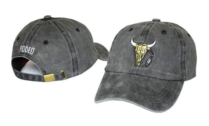 Brand New Baseball Caps Customized Designer 6 Panel Dad Hat Baseball Hat  Travis Scotts rodeo Cap snapback caps