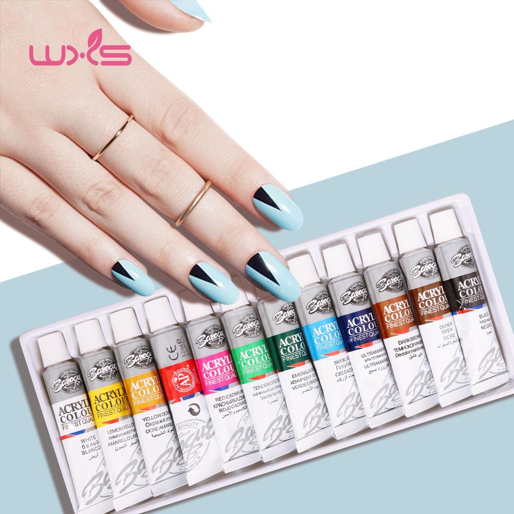 Nail Painting Gel Set Drawing Pigment Acrylic Paints Gel For Nail
