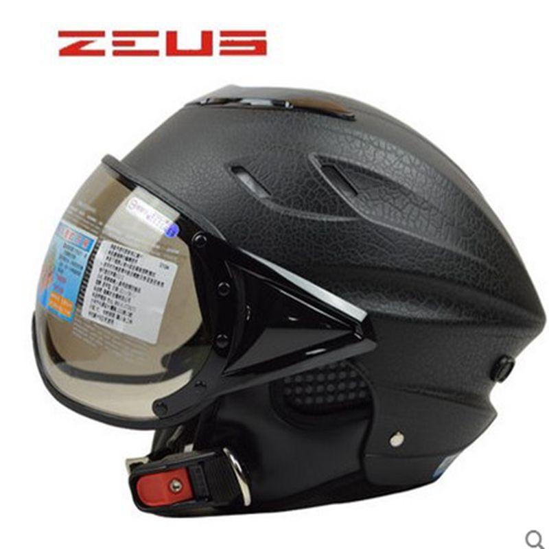 310e0cbe8c518 ZEUS 125 Half Open Face Motorcycle Helmet Casco Capacete