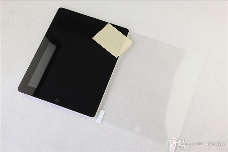 High Definition LCD Klar Bildschirm Schutzfolie Film mit Kleinpaket für Ipad Pro 2017 10,5 2 3 4 5 6 Ipad air 2 mini 4