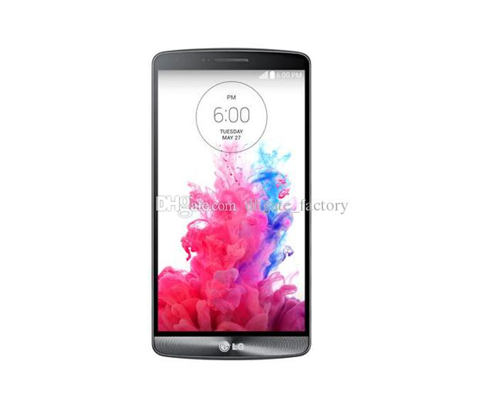 100% Original 5.5Inch LG G3 D850 D851 D855 3GB/32GB Quad Core Android 13MP 4G LTE Unlocked Smartphone Refurbished Cell Phone DHL Free