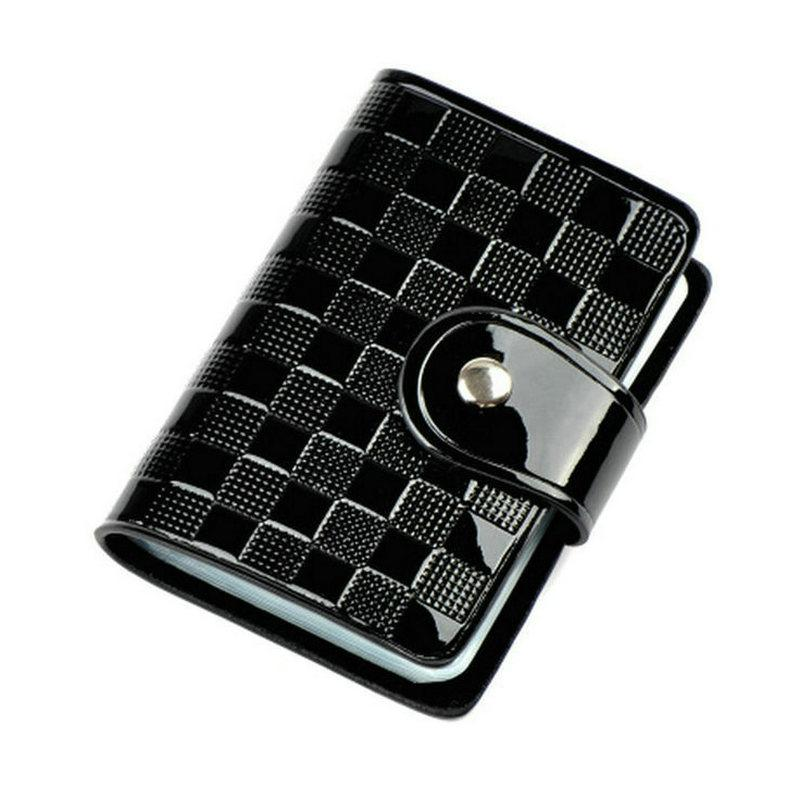 Fashion business card holder woman lady patent leather id credit fashion business card holder woman lady patent leather id credit card case passport holder wallet id card holder qb30 card holder id credit card women card colourmoves
