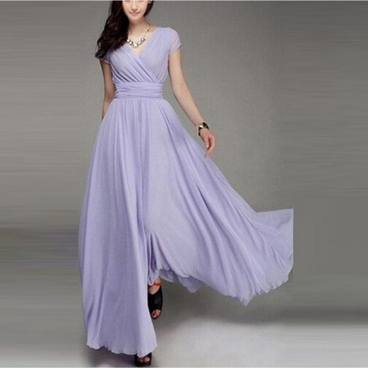 2019 New Sexy Sequined Long Evening Prom Dresses Chiffon A Line Plus Size Floor-Length Formal Party Gown Cheap