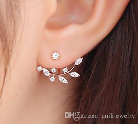 inlaid luxury product big fashion iang sapphire eagerated shipin lady earrings