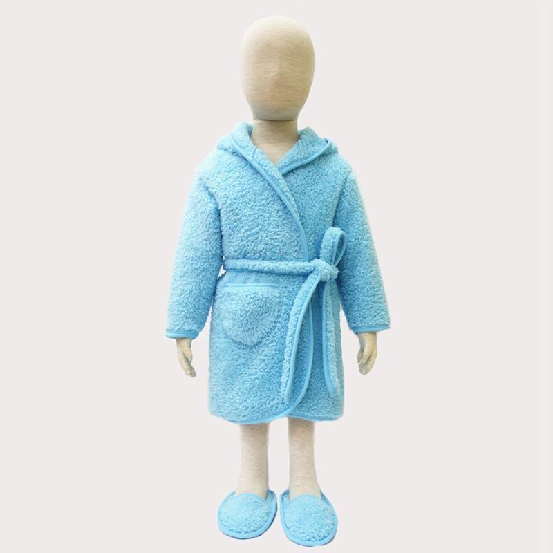 faf9c32846e3 2017 Children Sleepwear Coral Fleece Baby Clothing Set Bathrobe+ ...