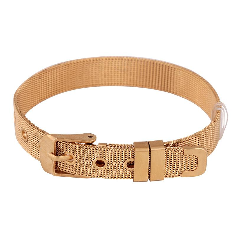 Stainless Steel Jewelry Band Woven Strap Wrist Belt Bracelet For Watch Band Strap Bracelet Bangle