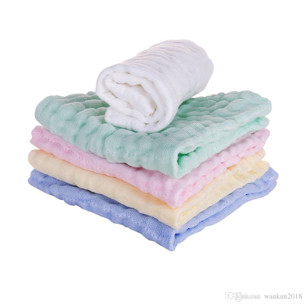 Baby Sporting Natural Muslin Cotton Baby Wipes Soft Newborn Baby Face Towel For Sensitive Skin