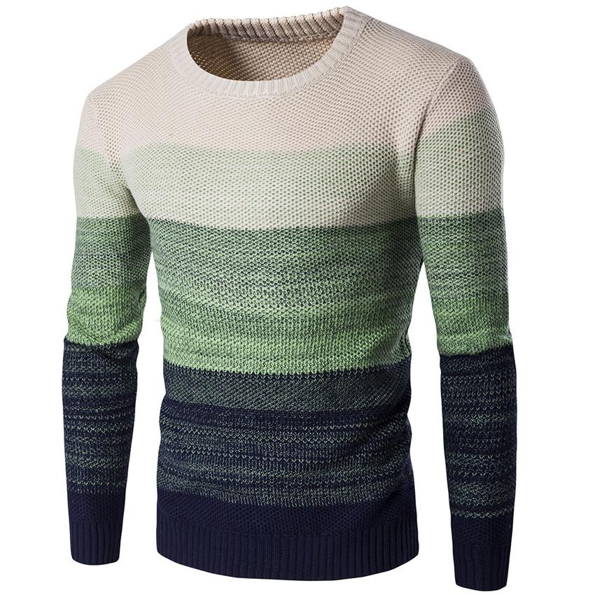 Men s New Casual Round Neck Cotton Breathable Mens Sweaters Fashion Tide  Brand Casual Color Matching Long Sleeve Men Sweater Cardigans Cheap Cardigans  Men s ... 4a6a07402