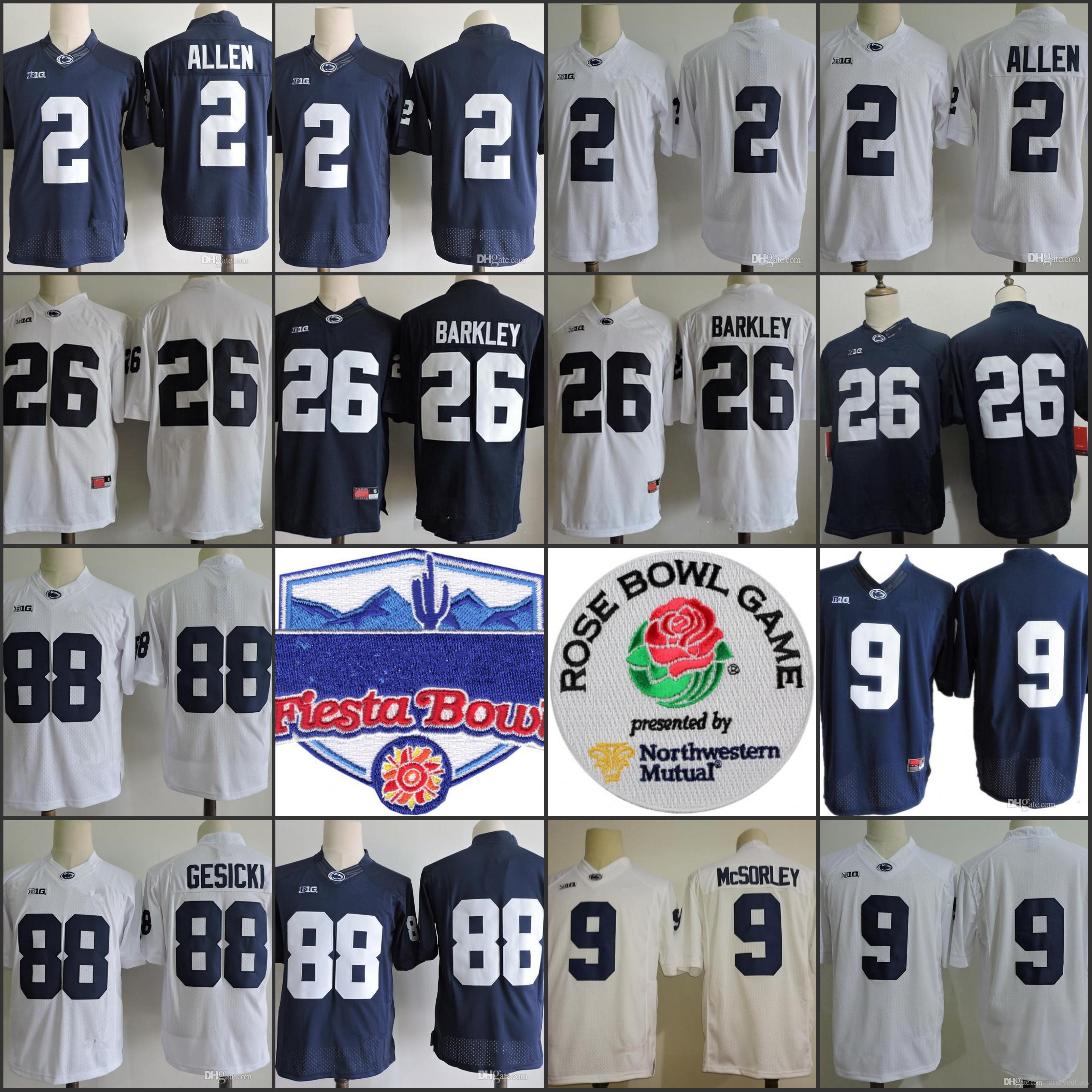 99d18c4d ... netherlands penn state nittany lions 26 saquon barkley 2 marcus allen  88 mike gesicki 9 no