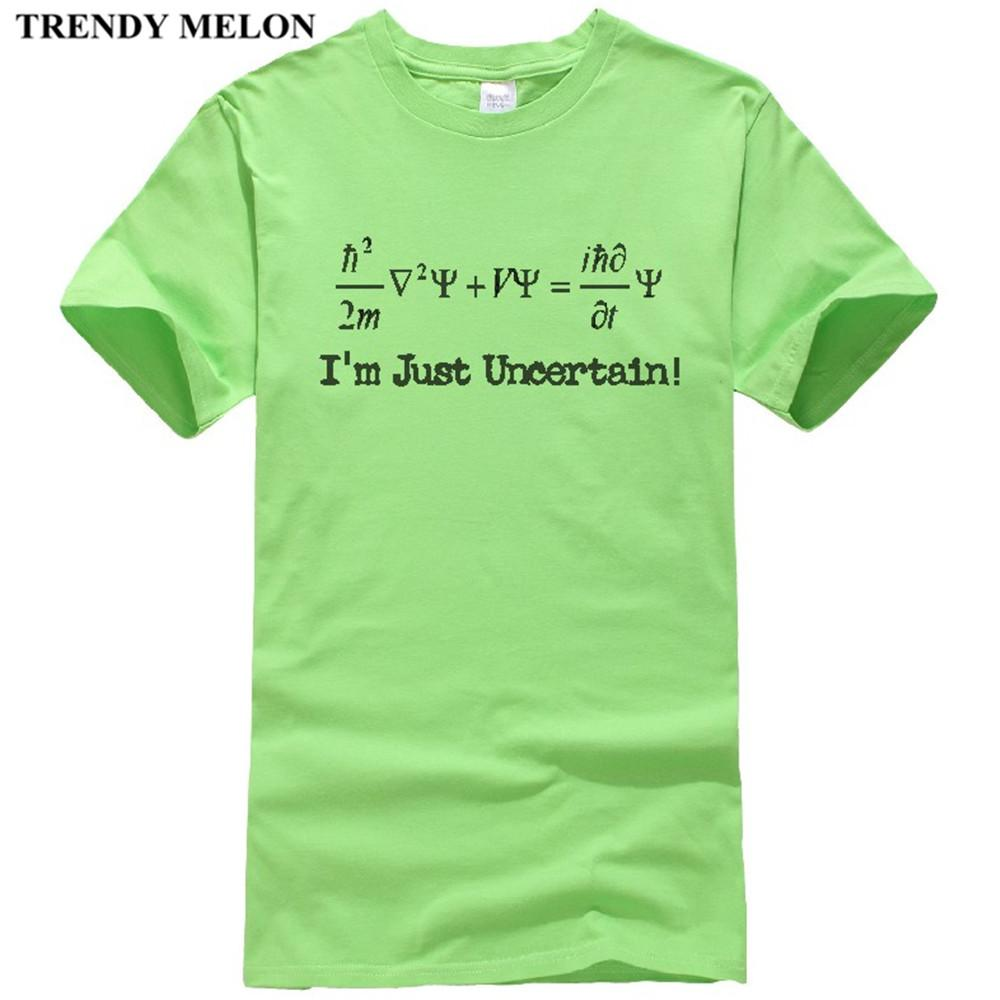 21831948b5 Trendy Melon Creative T Shirt Men Physics Geek Nerd Funny Novelty Tee Shirts  Short Sleeve Cotton Tops Clothing MP09 Cotton Shirt Tee Shirts Online From  ...