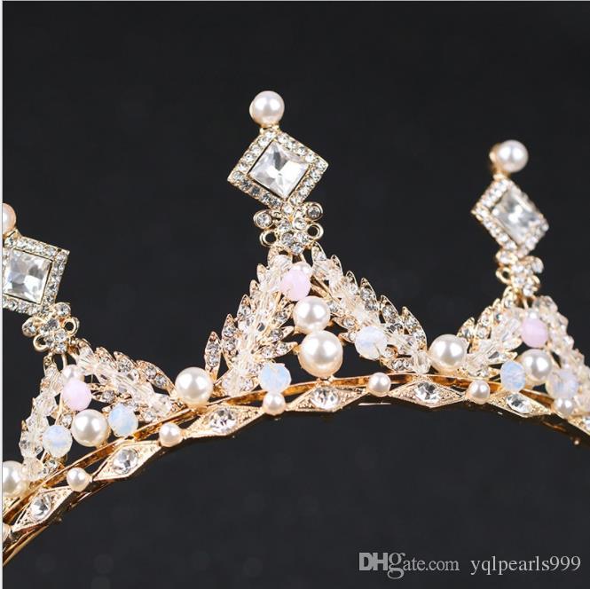 Yeni sıcak elmas, taç, el matkabı, taç gelinlik, gelin taç süsleri.