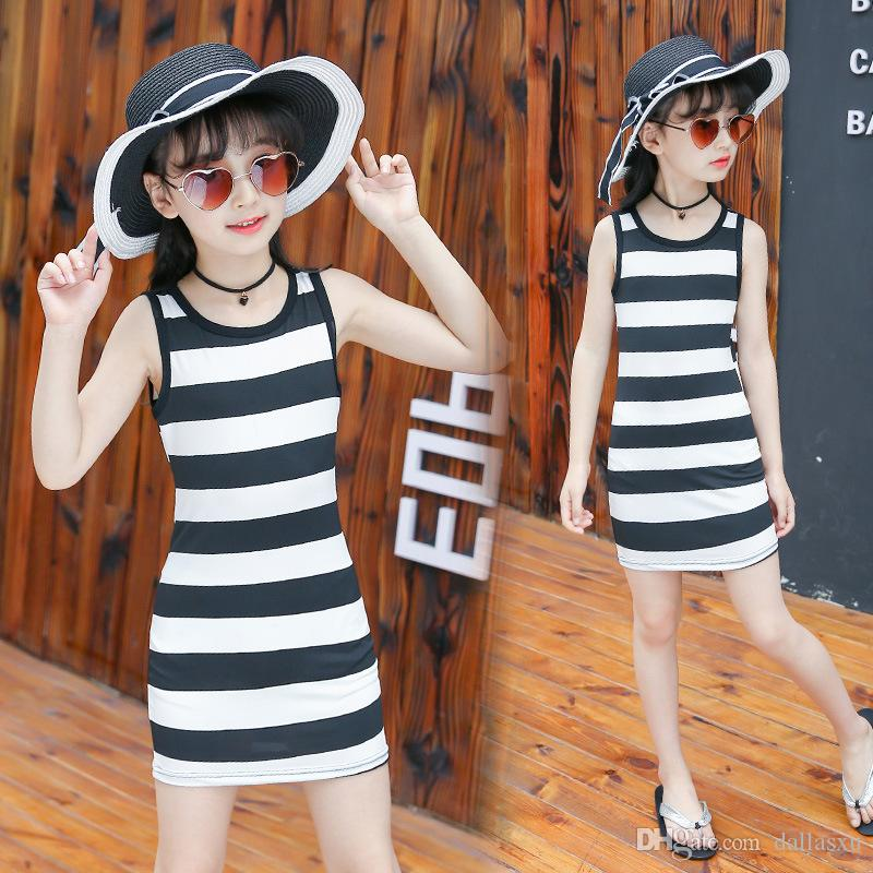 86381957e96a Summer Style Girl Dress Cotton Baby Dress Hollow out Girls Clothing ...