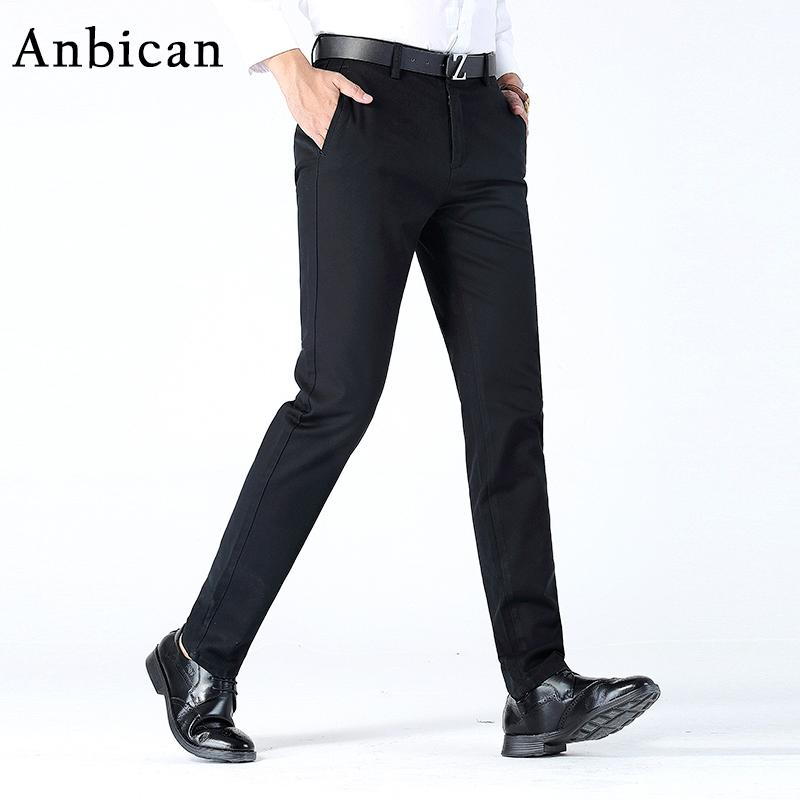e19027a6806e Wholesale- Anbican Fashion Winter Mens Chino Pants Brand New Smart ...