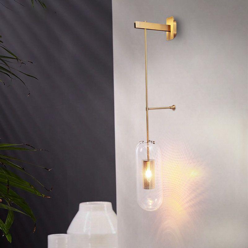 Acheter Lampe Murale Design Créatif Loft Applique Murale Bean Verre
